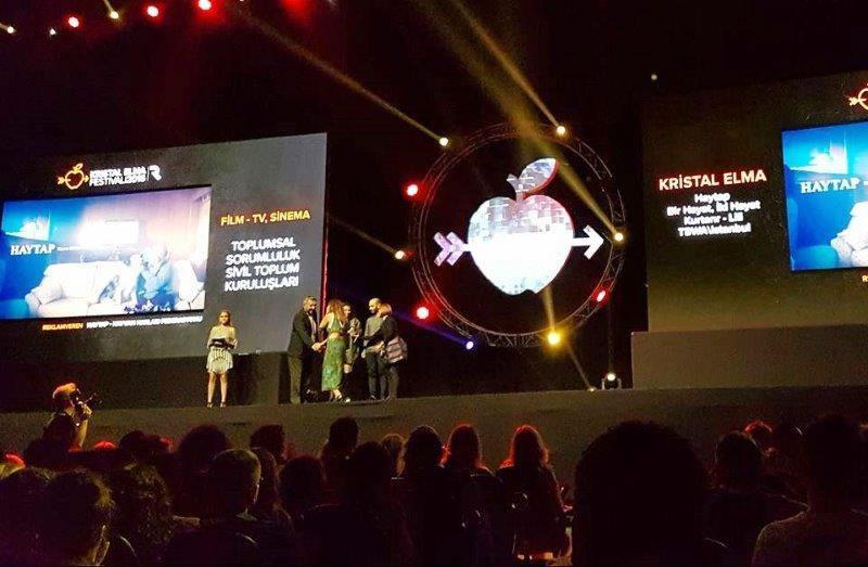 Kristal Elma 2016 Ödülü Haytap ve TBWA 'in
