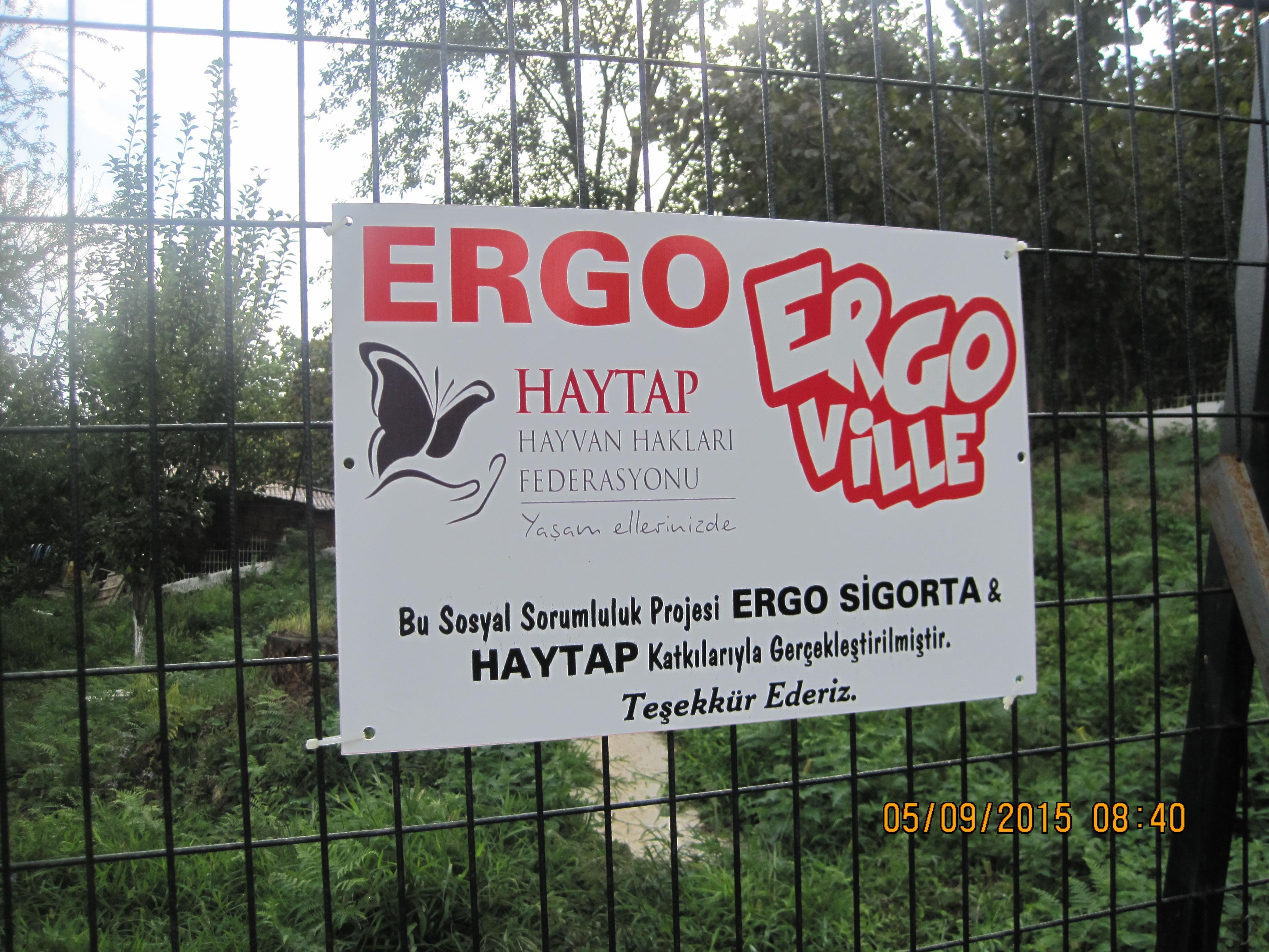 Ergo Sigorta'nın ERGOVILLE Oyunu Sanal ,   Dostlarımızın Doyması ise  Gerçek !