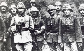 Just After Gallipoli Wars
