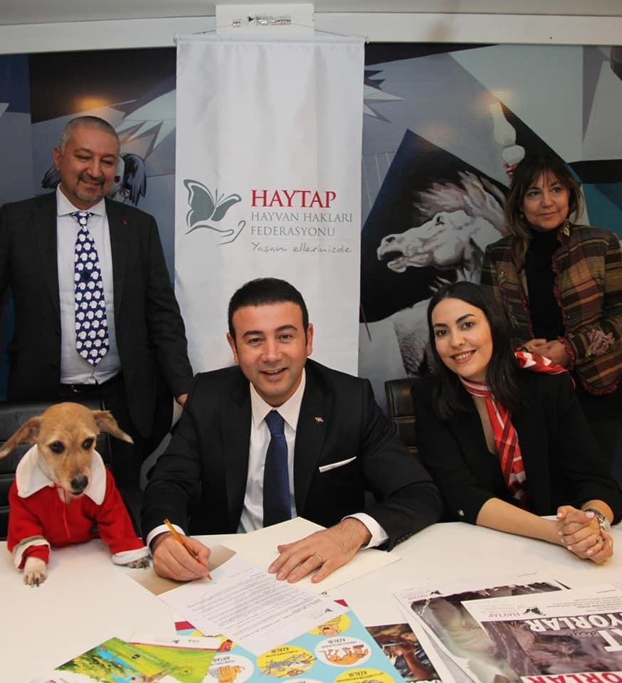 İstanbul Beşiktaş Belediye Başkanı Rıza Akpolat Haytap'ın