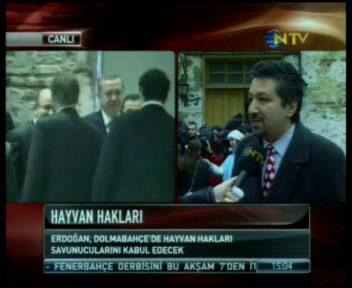 Dolmabahçe Görüşmesinin Hemen Öncesi NTV Yayını