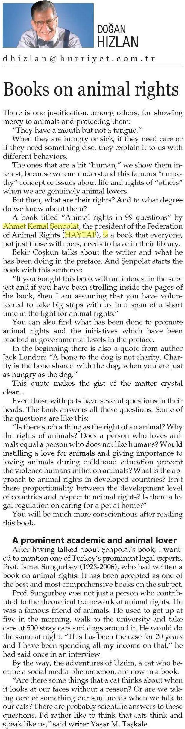 Books on animal rights