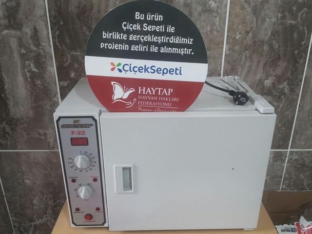 Çiçek Sepeti & HAYTAP İşbirliği ile Kütahya / Tavşanlı Belediyesi Bakımevine Ameliyathane