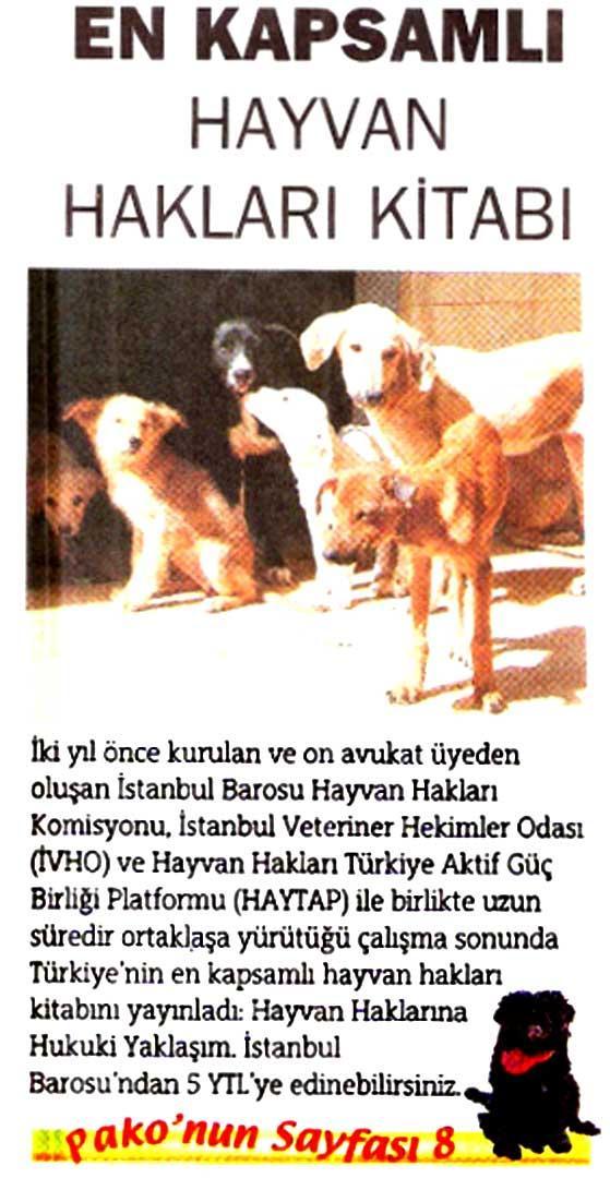 Türkiye'nin en kapsamlı hayvan hakları kitabı çıktı