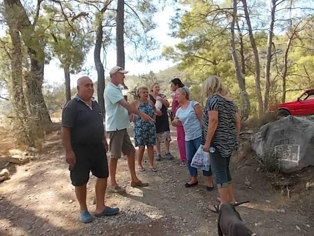 Haytap Ege-Akdeniz İmdat Turu Ekibi - Göcek Bakımevinde