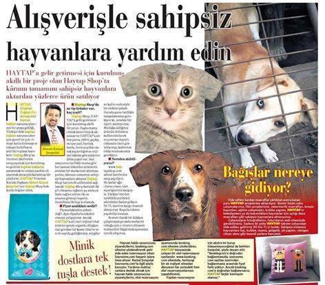HAYTAPSHOP : Alışverişle Sahipsiz Hayvanlara Yardım Edin