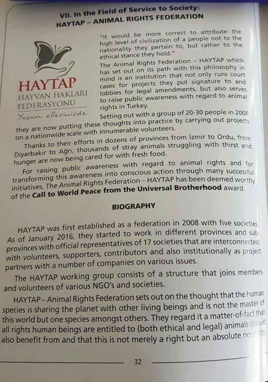 HAYTAP's Manifesto