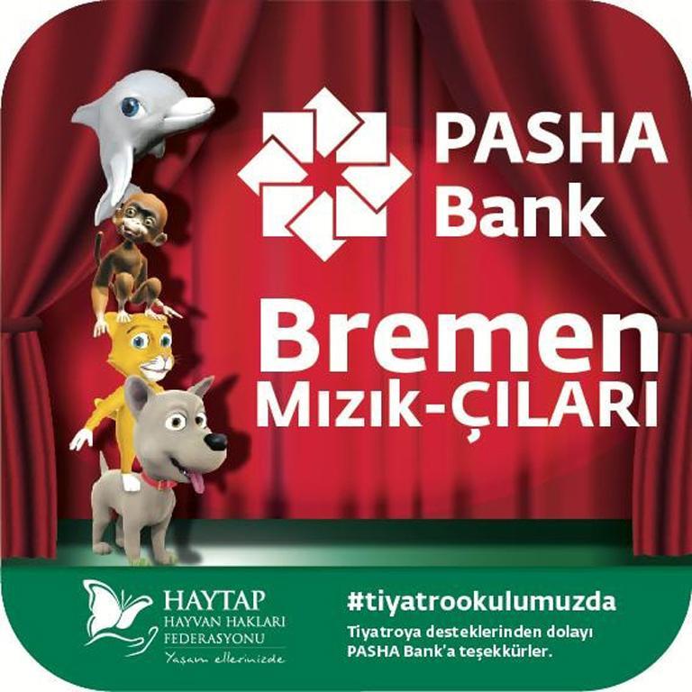 PASHA Bank'ın Haytap Eğitim Tiyatrosu Desteği