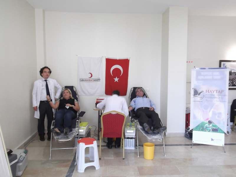 Haytap'dan Türk Kızılayına Destek