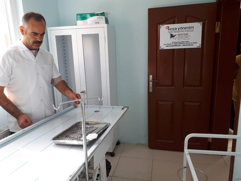 Haytap 2018 Takvim Gelirleri Yozgat/Sorgun'da Ameliyathane Oldu