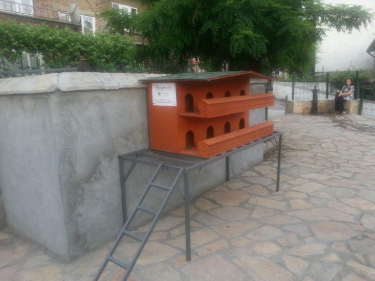 Haytap 2013 Takvim Geliri Bartın'da Kedi Evi Oldu