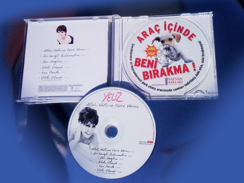 Yeliz'in Albüm Kapağında Haytap ''Araç İçinde Beni Bırakma''
